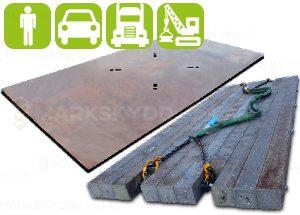 Heavy Duty, Steel plates,Reinforced bog mats