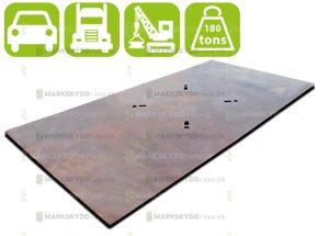 Steel road plates